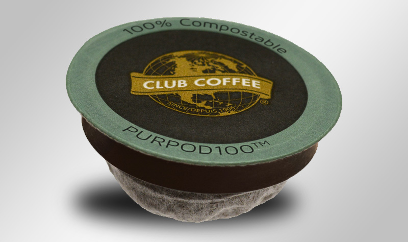 Major Composter Announces Acceptance of First Compostable Single Serve Coffee Pods